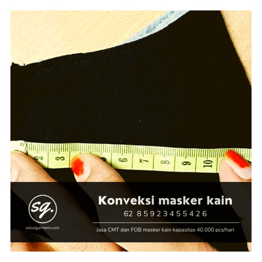 Harga konveksi masker kain bnpb kemenkes di rawalumbu bekasi